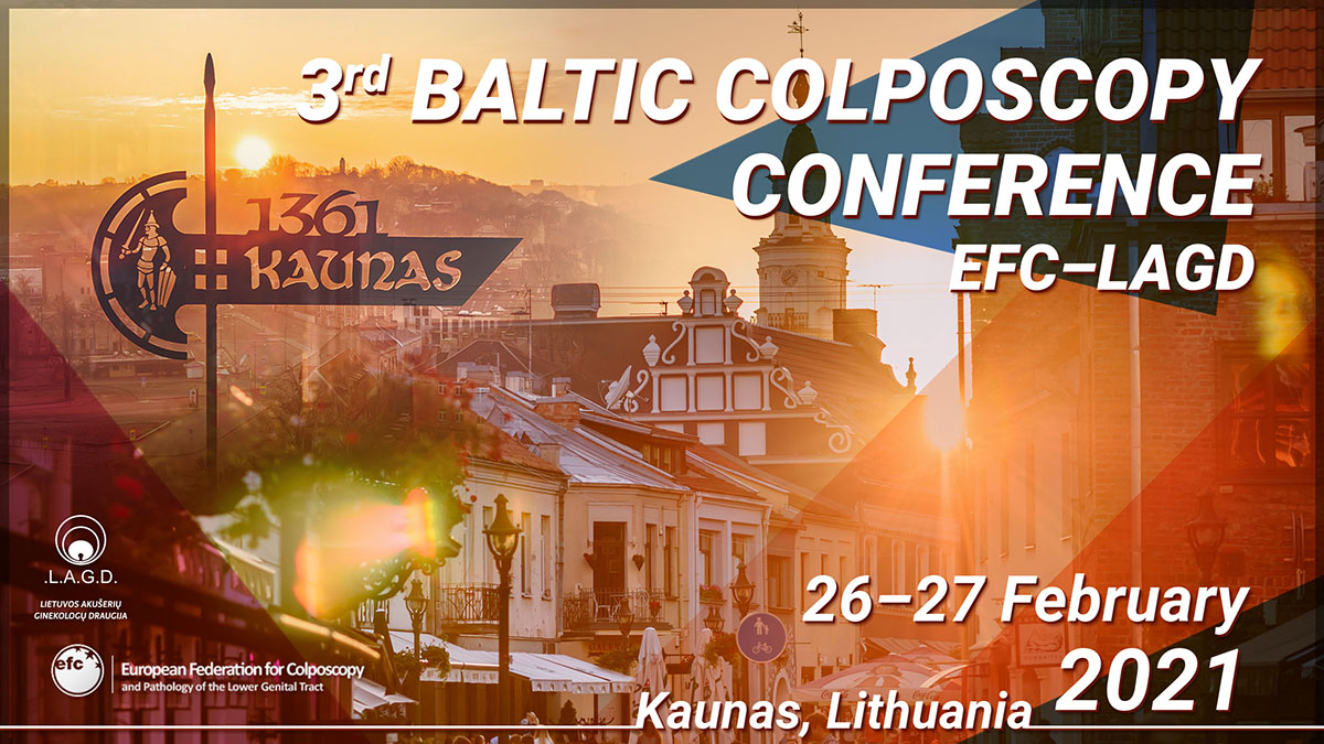 EFC – LAGD 3rd Baltic Colposcopy Conference